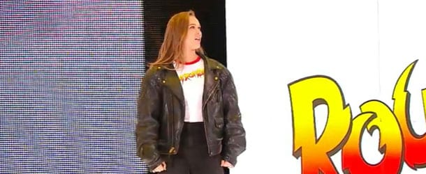 Rousey-WWE-Debut