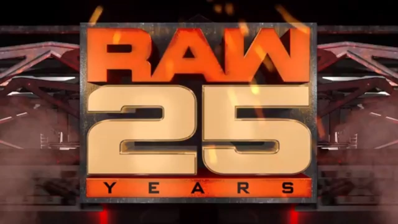 Check Out the Opening for RAW 25th Anniversary Show