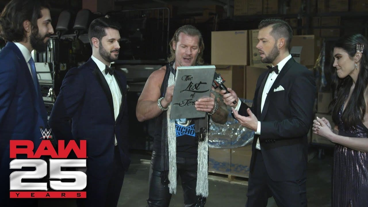 Chris Jericho Adds More Names to The List After RAW
