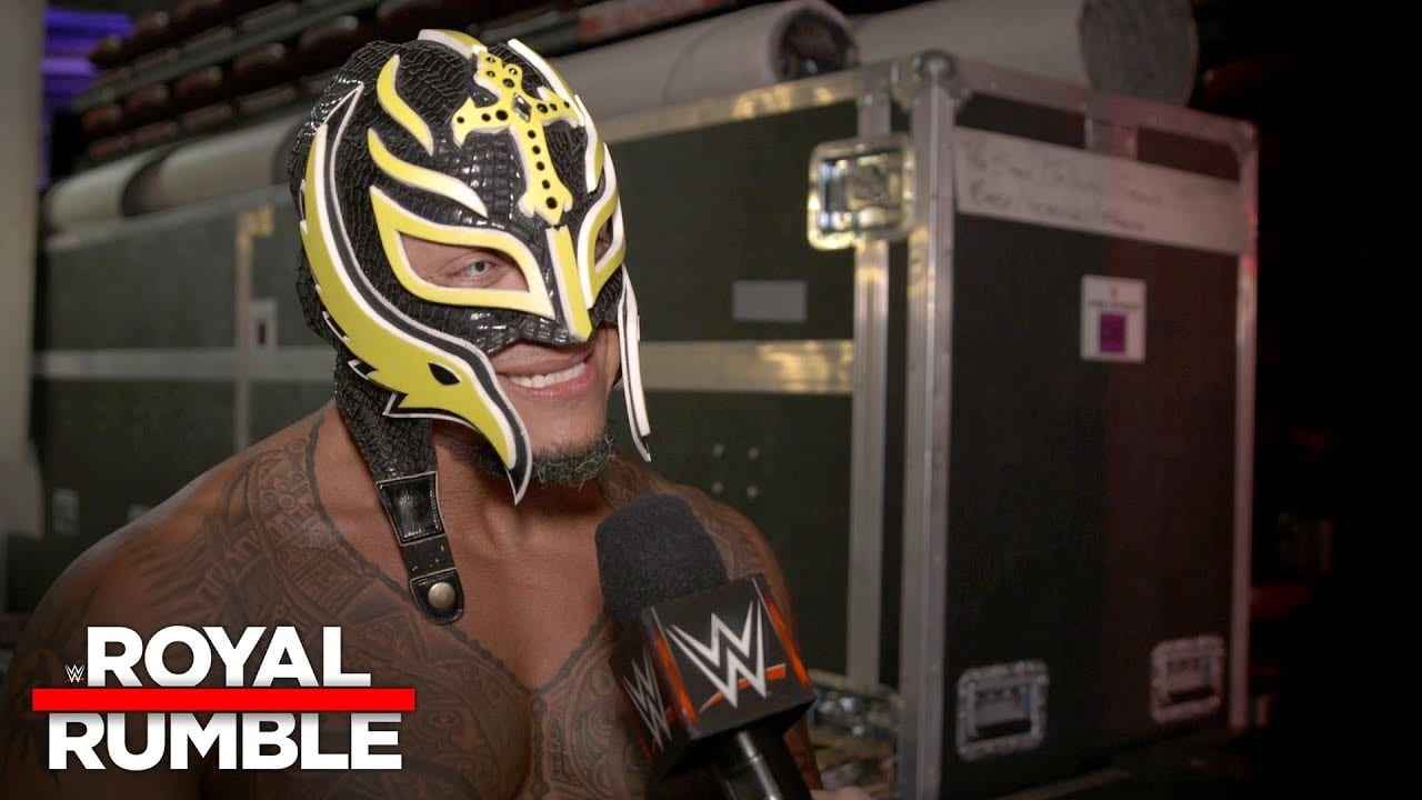 Rey Mysterio Reacts to Return at The Royal Rumble