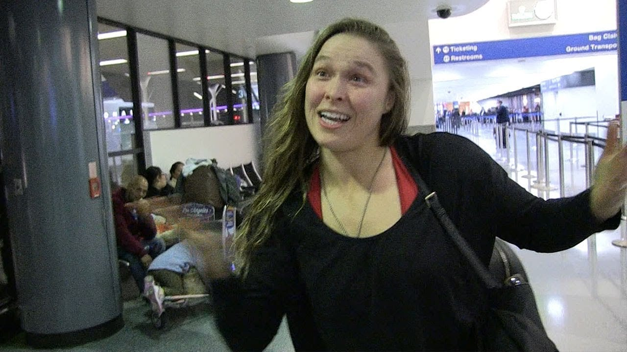 Ronda Rousey Denies Royal Rumble Reports
