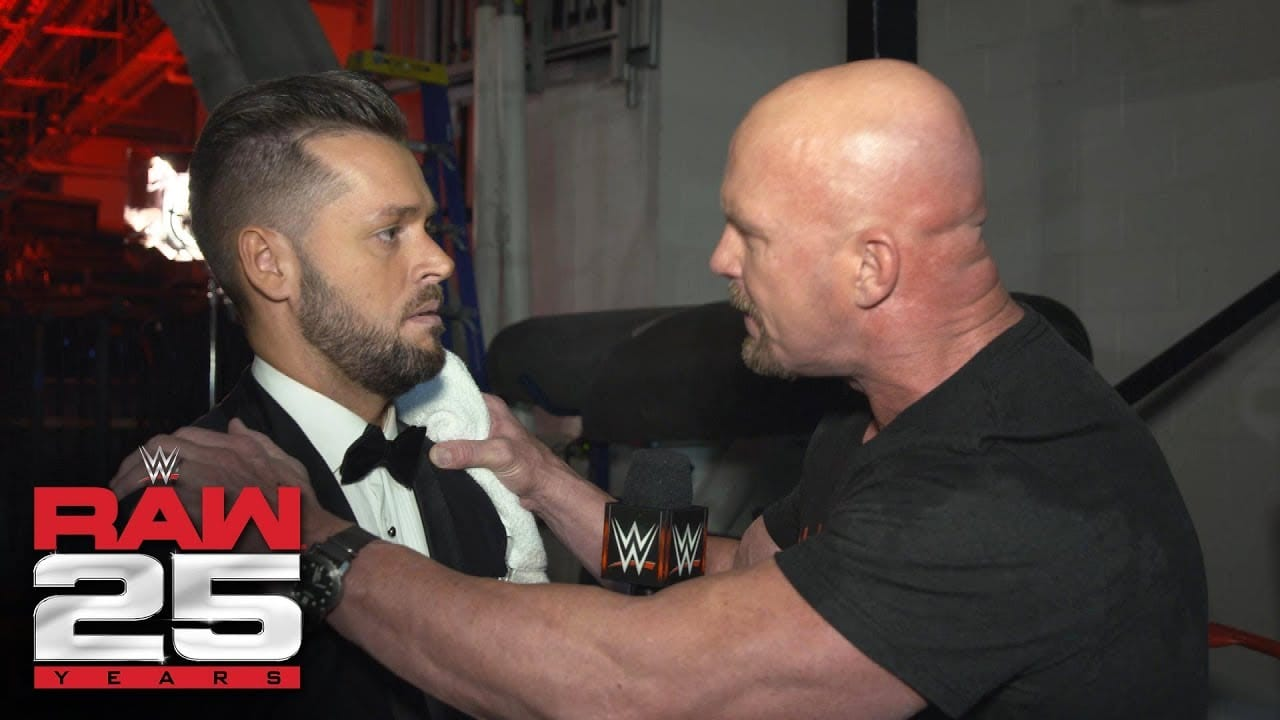 Steve Austin Unleashes Verbal Assault on Mike Rome Backstage at RAW