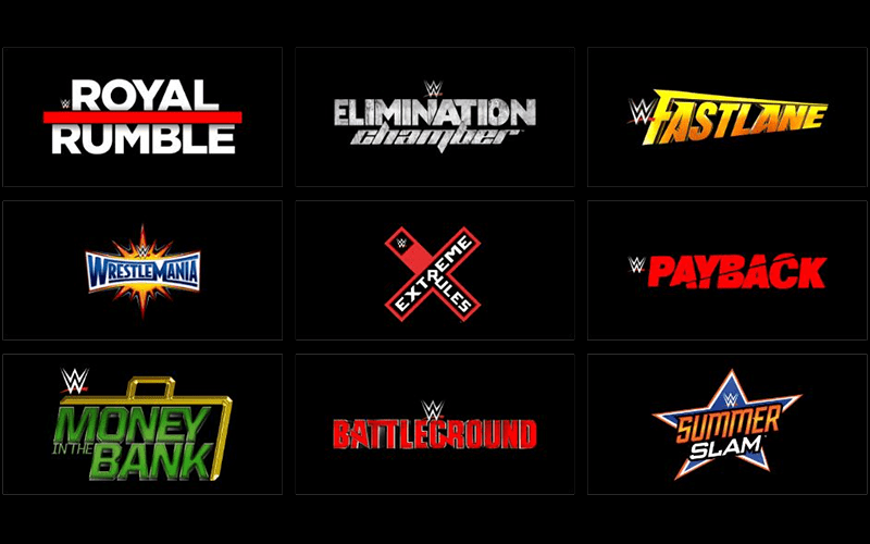 wwe reportedly dropping single branded payperview events