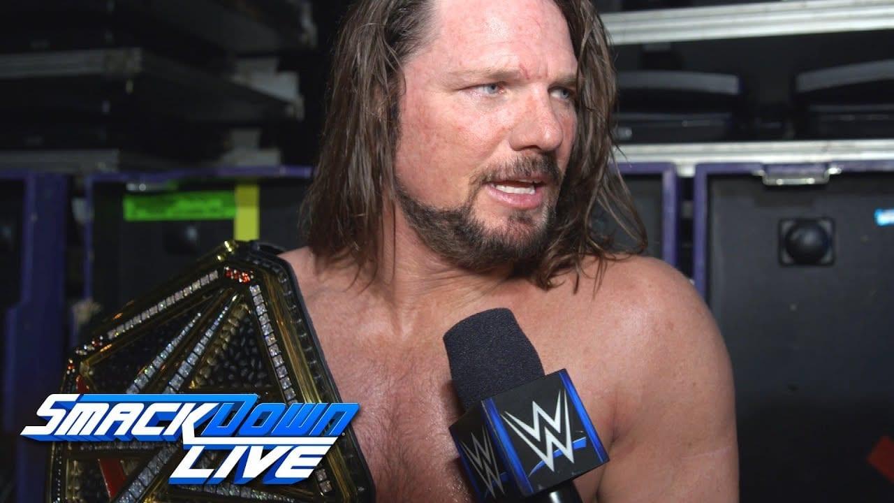 AJ Styles Reacts to Loss Against John Cena