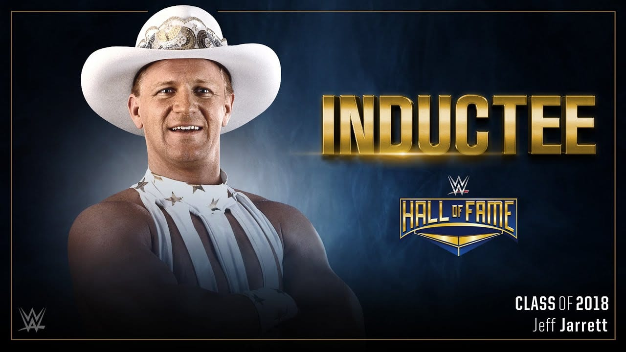 Jeff Jarrett Reacts to WWE Hall of Fame Induction