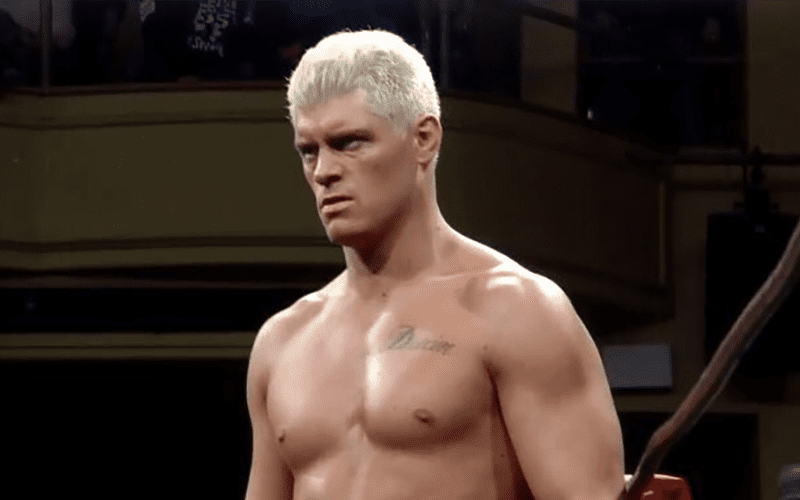 Cody Rhodes Says He S Hell Bent On Keeping His Hair Blonde