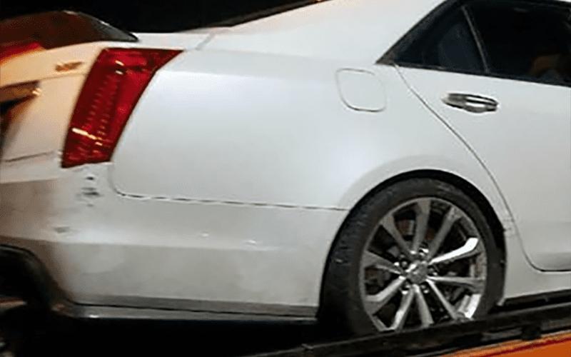 Photos Of Jeff Hardys Car Following Dwi Accident