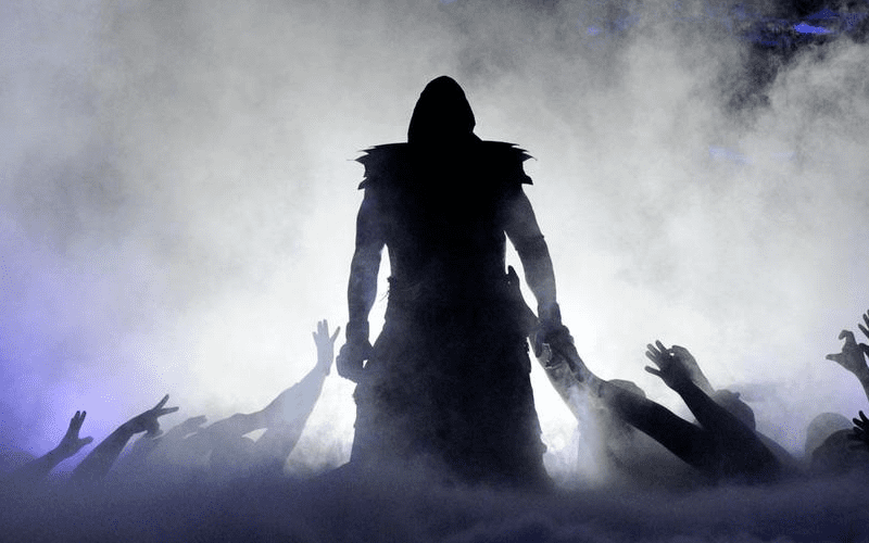The-Undertaker-Awesome-Entrance
