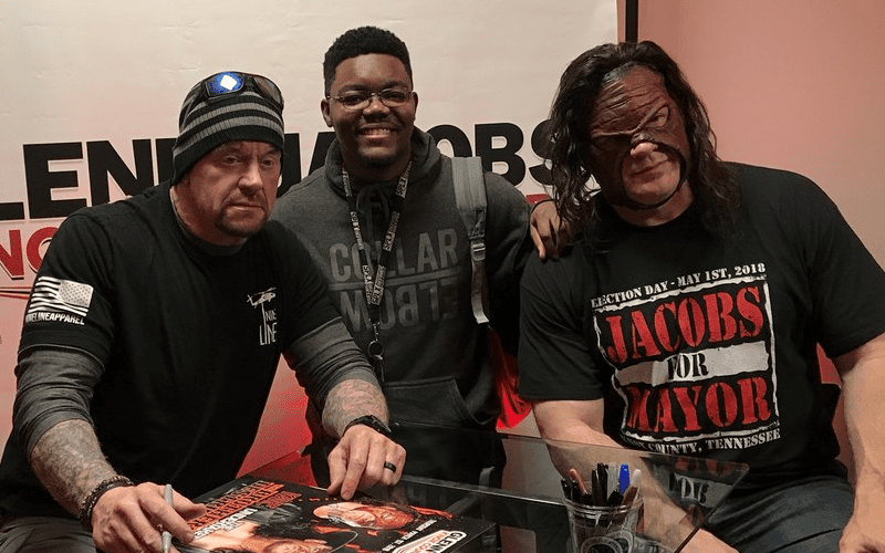 Undertaker And Kane In Real Life Photos of The U...