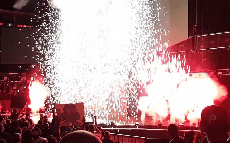 WWE-Pyro