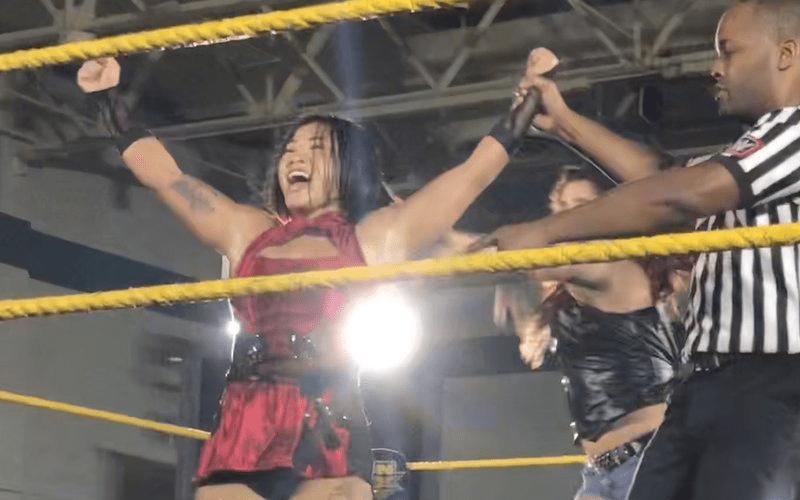 Xia-Li-Makes-NXT-In-Ring-Debut