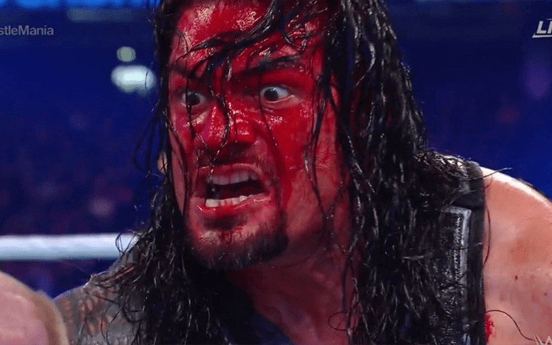 Roman Reigns Checked Out By Medical Staff After WrestleMania