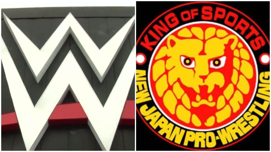 WWE new japan