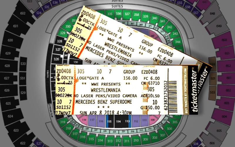 WrestleMania-tickets