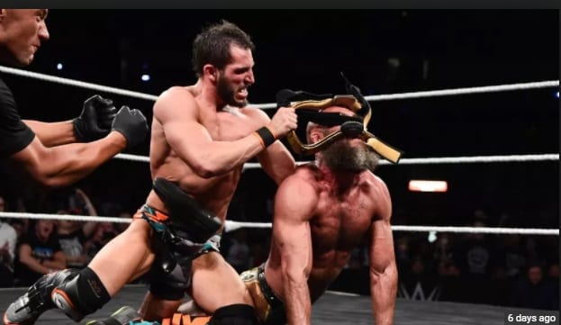 tommaso ciampa johnny gargano taps out takeover