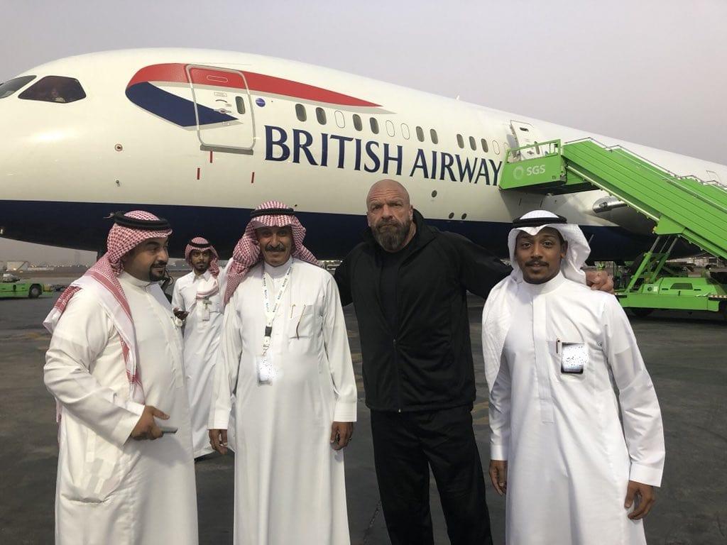 triple h saudi arabia