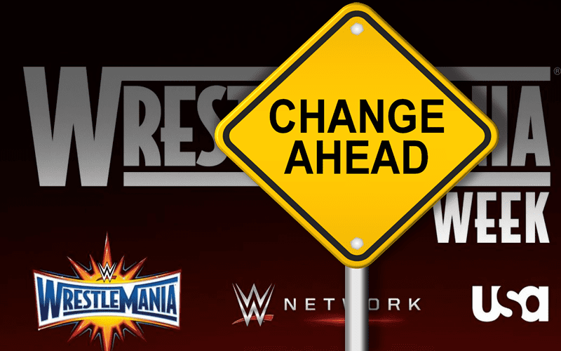 Changes-WrestleMania