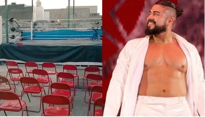 andrade first match