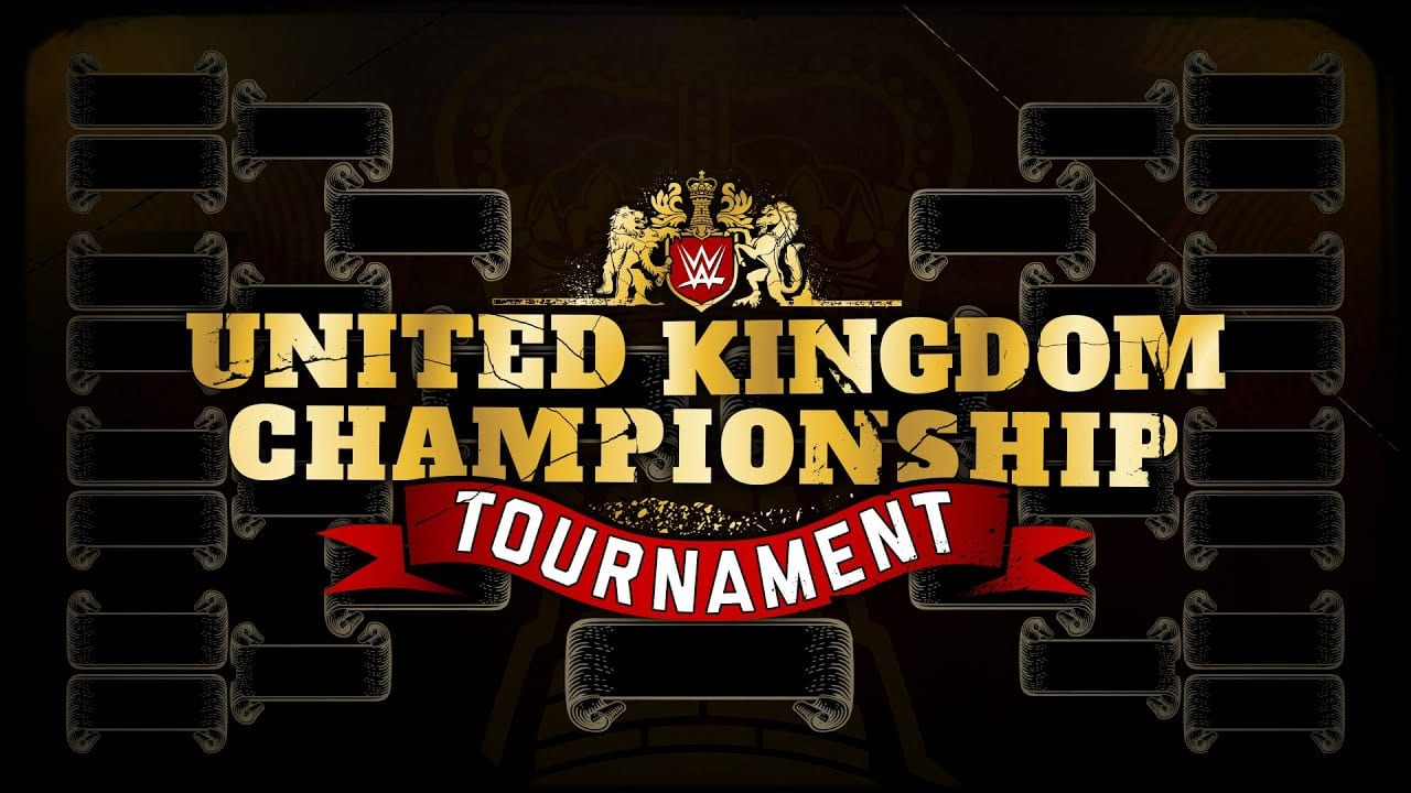 Brackets Revealed for the WWE UK Tournament