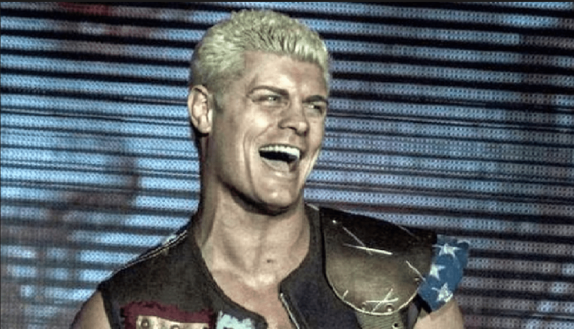 cody rhodes smiling