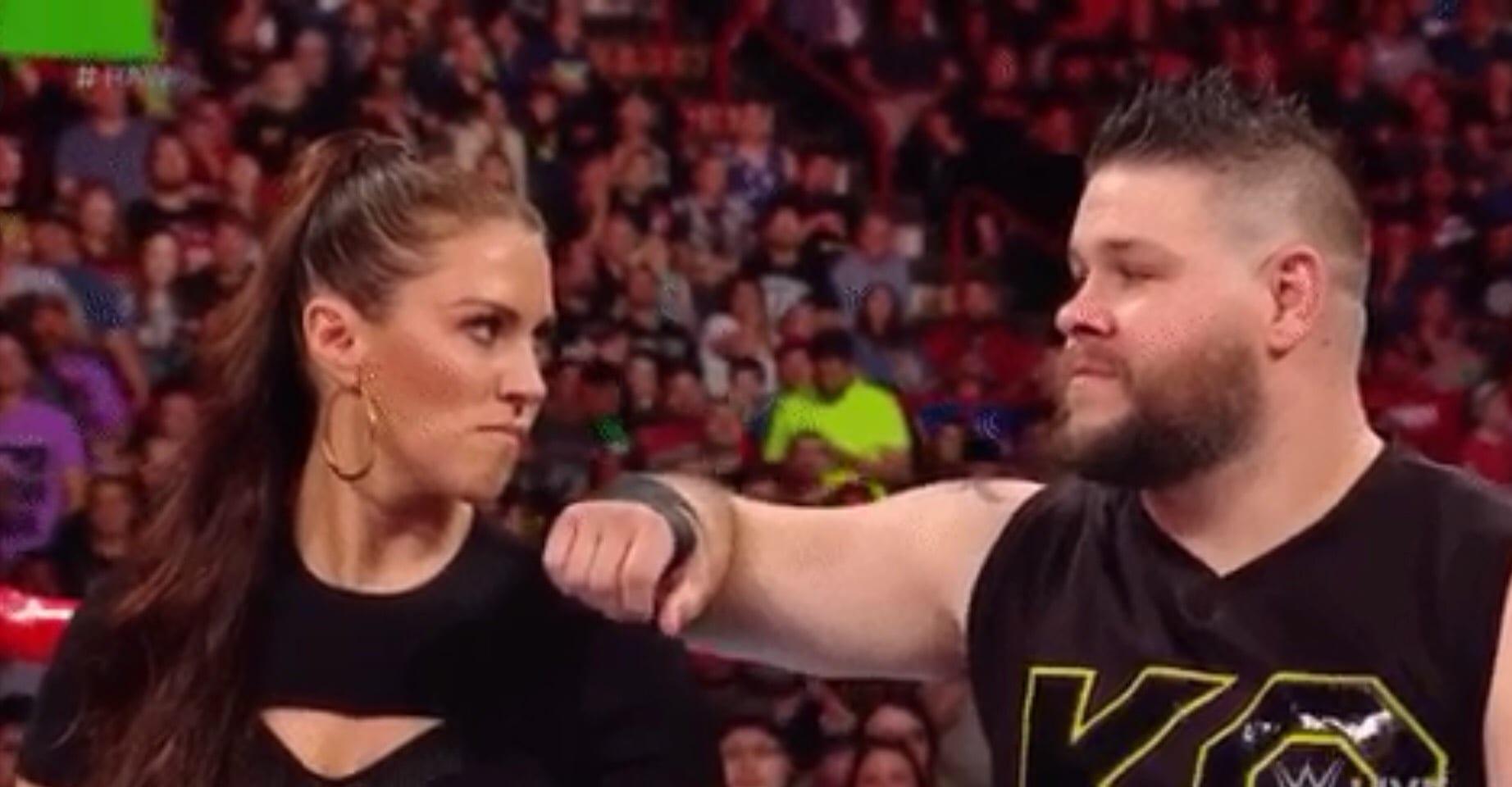 Kevin Owens Stephanie McMahon