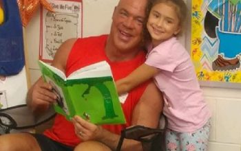 kurt angle book day