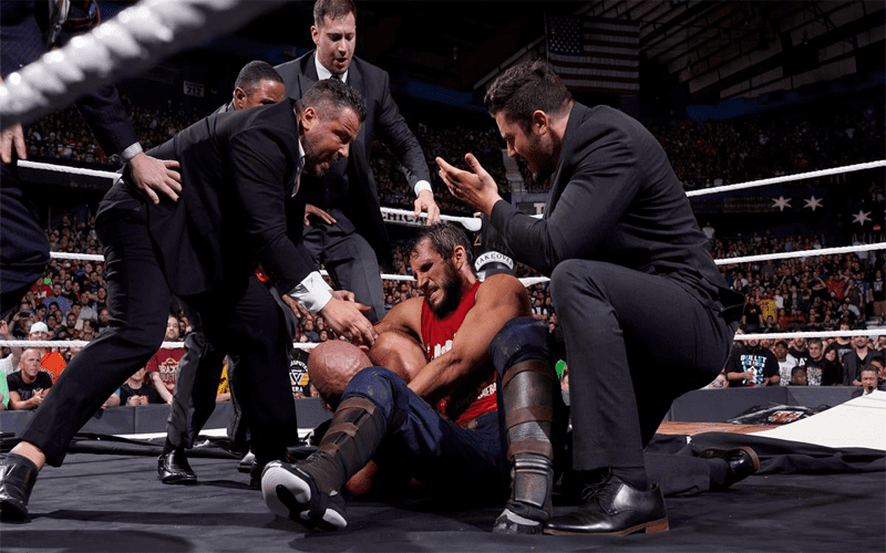 NXT Medic Tommaso Ciampa Johnny Gargano