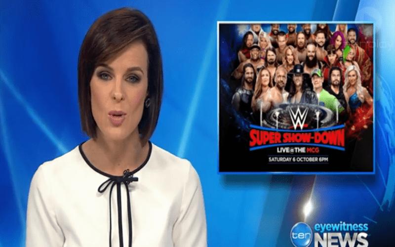 TEN Eyewitness News Makes Fun Of WWE