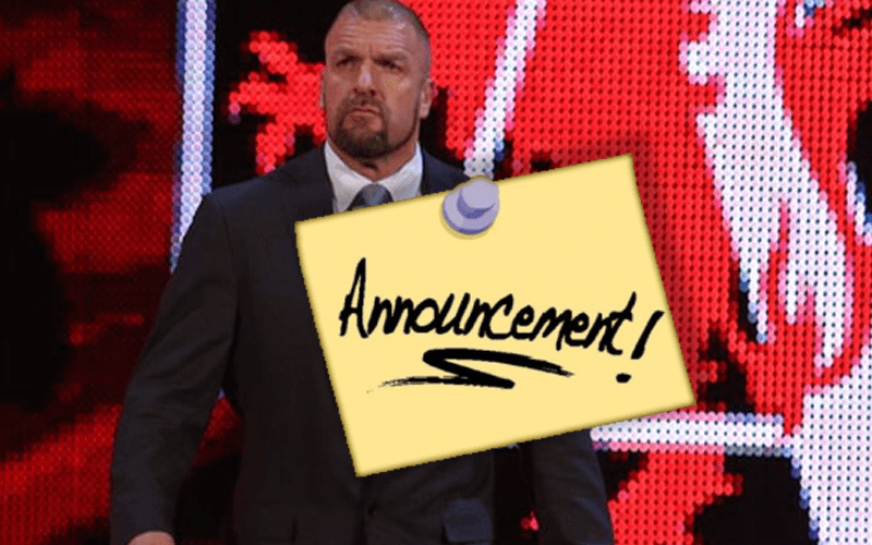 Triple-H-Announcement