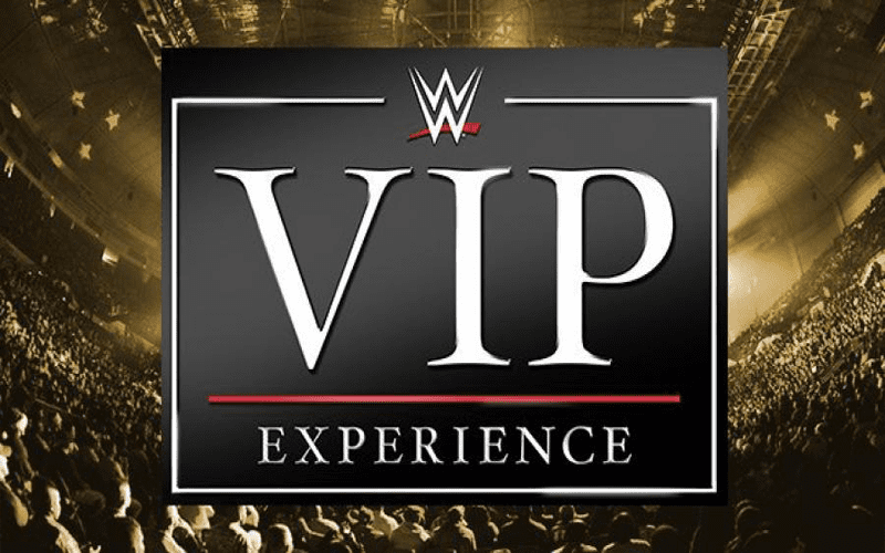 WWE VIP Experience
