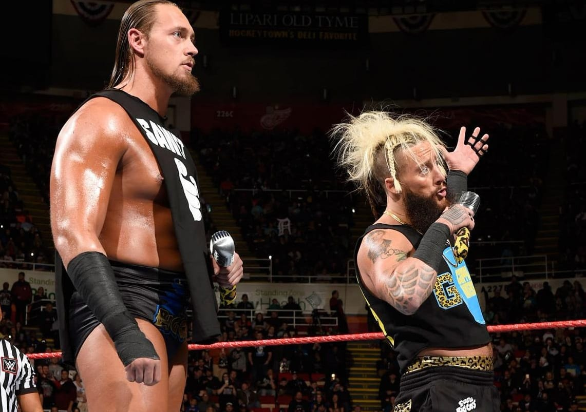 enzo and big cass how you doin