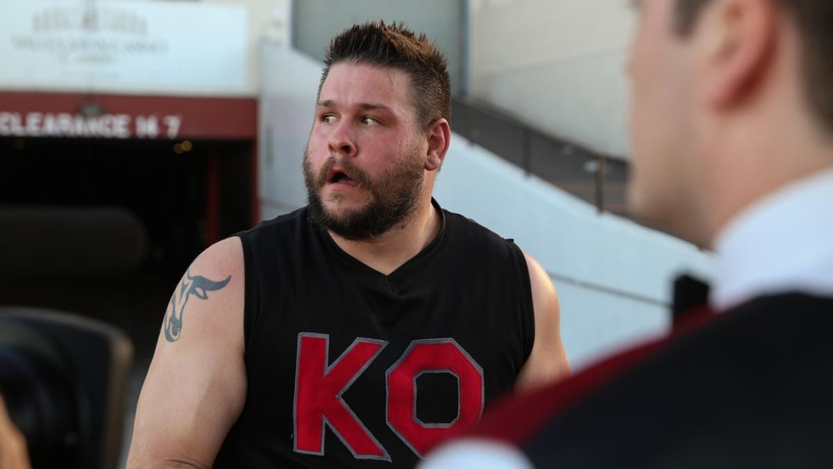 kevin owens scared