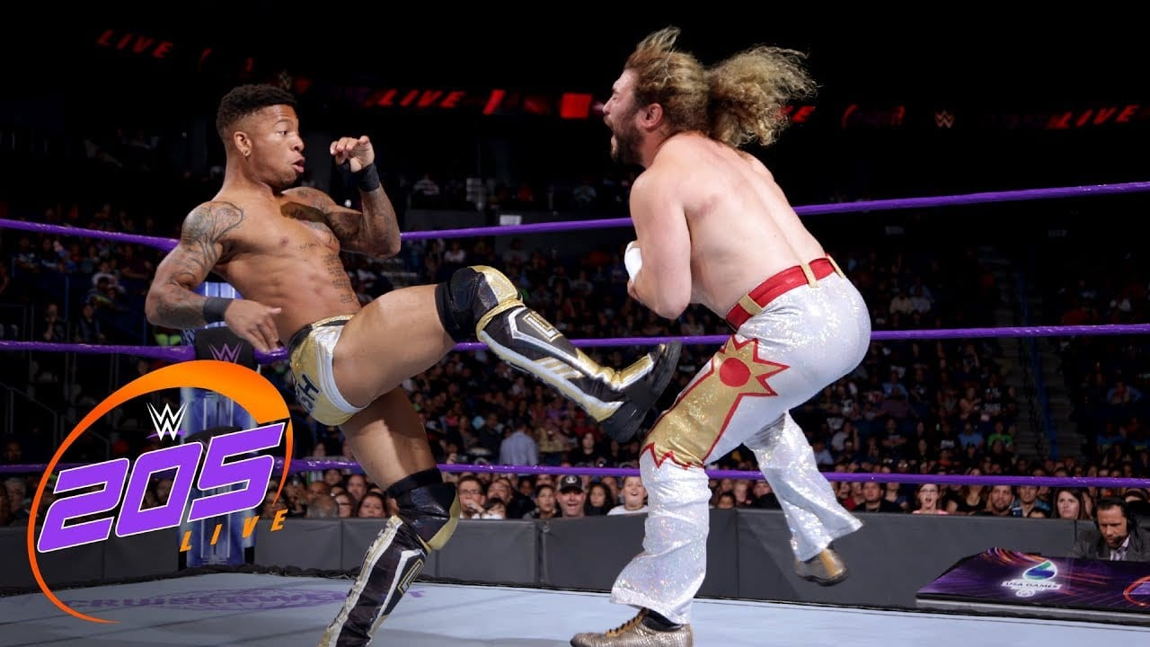 Lio Rush Reacts to 205 Live Debut
