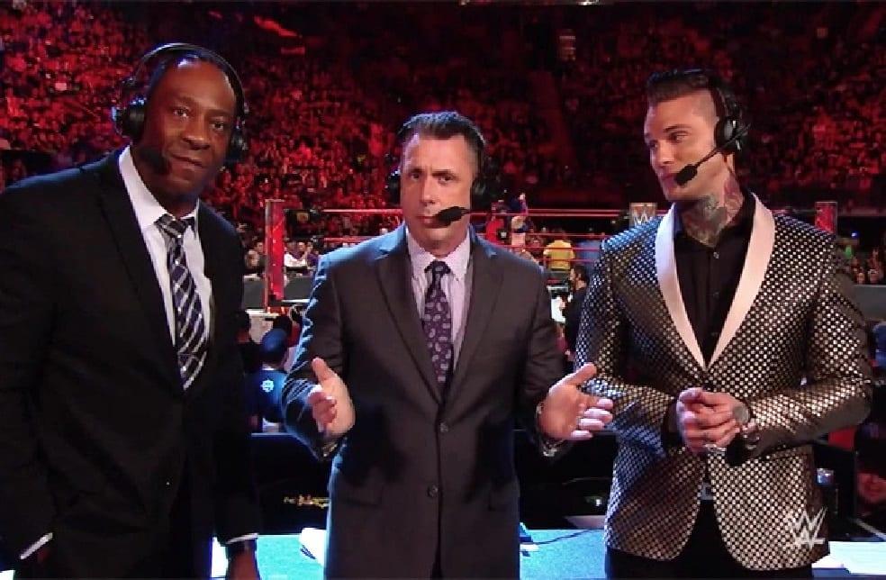 raw announce team