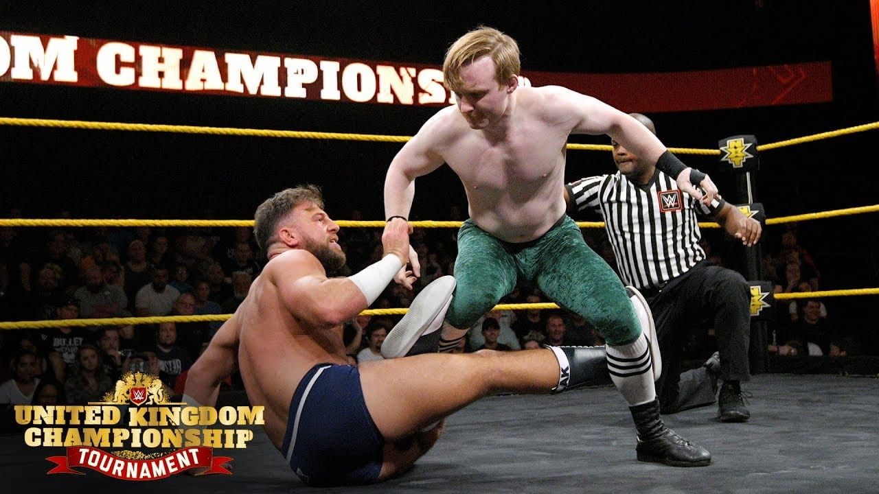 WWE Releases UK Championship Tournament Match Online