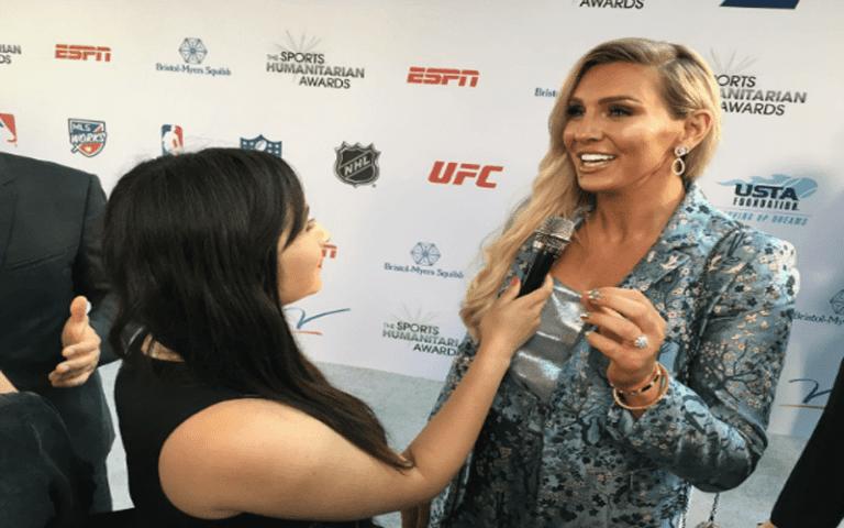 Charlotte Flair Talks About Doing Naked Backflips For ESPN