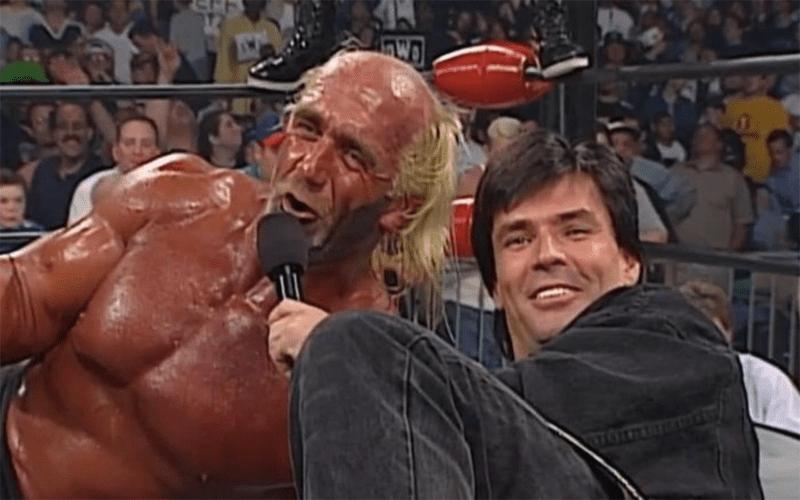 Hulk Hogan Eric Bischoff WWE HOF Return