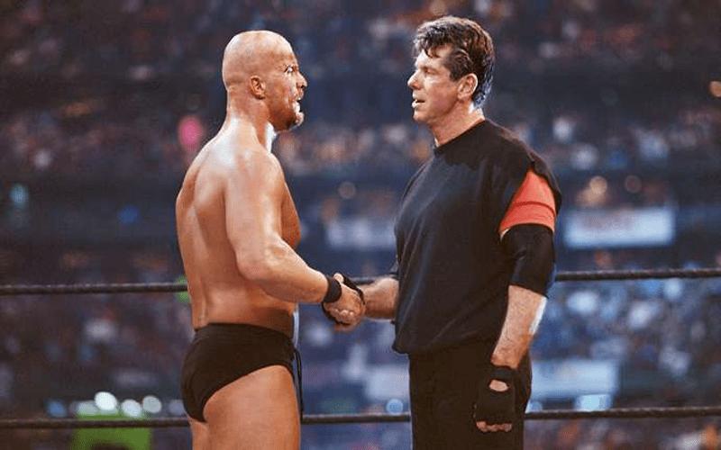 'Stone Cold' Steve Austin Vince McMahon