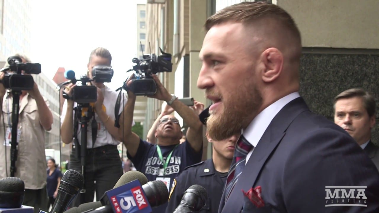 Conor McGregor Agrees To Plea Deal, All Felony Counts Dropped