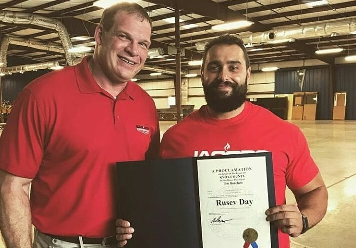 kane and rusev day