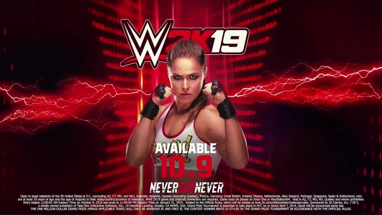 Ronda Rousey Revealed for WWE 2K19
