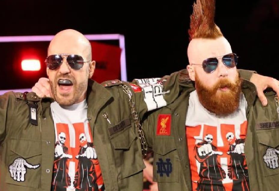 the bar sheamus cesaro