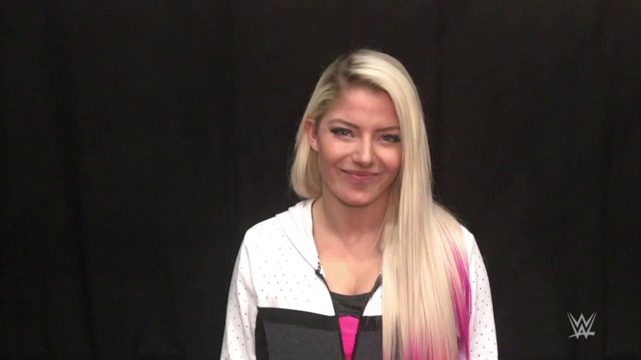 Alexa Bliss Says She Found Out About Trish Stratus Match on Twitter