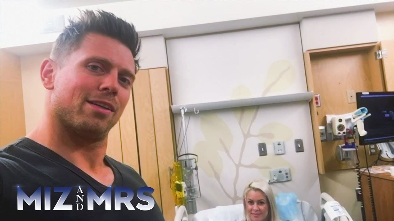 WWE Releases Footage Of The Miz & Maryse Moments Before The Birth Of Their Daughter