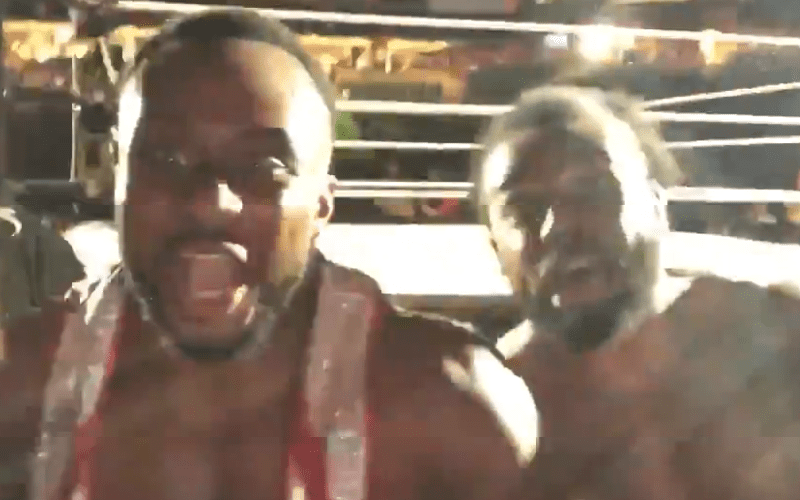 Big E Xavier Woods The New Day WWE Live