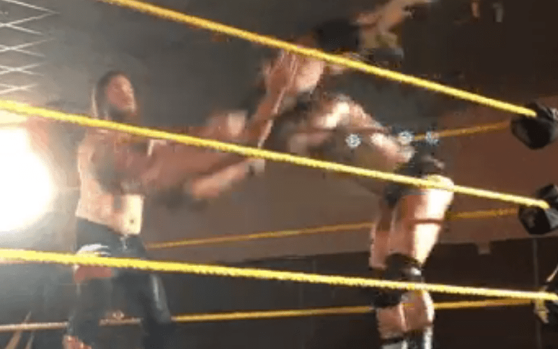 New-Talent-Busted-Open-The-Hardy-Way-During-NXT-Debut