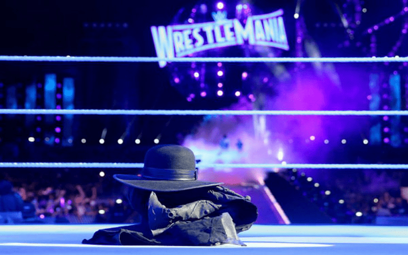 The Undertaker WrestleMania 33