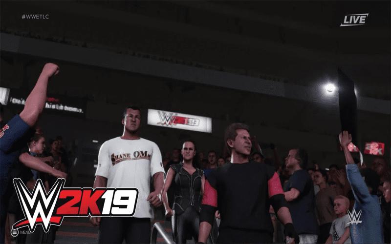 WWE 2K19 McMahon Family