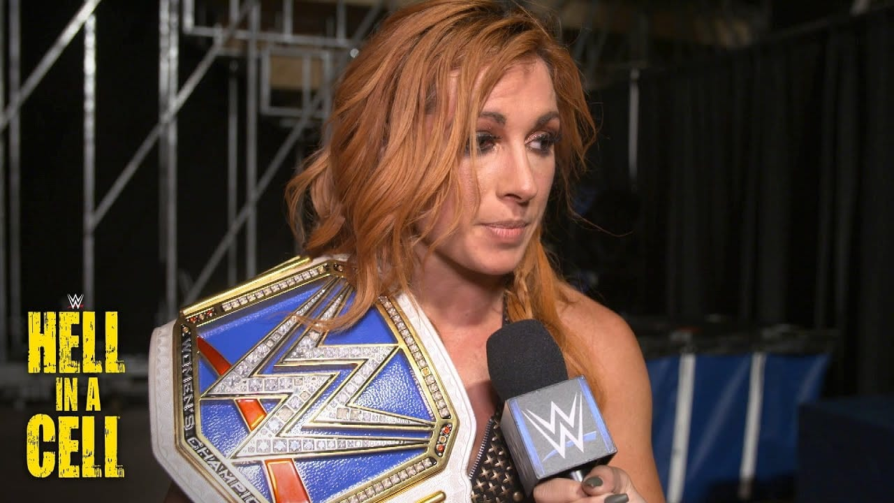 Becky Lynch Reacts to Winning the SmackDown Women's Championship