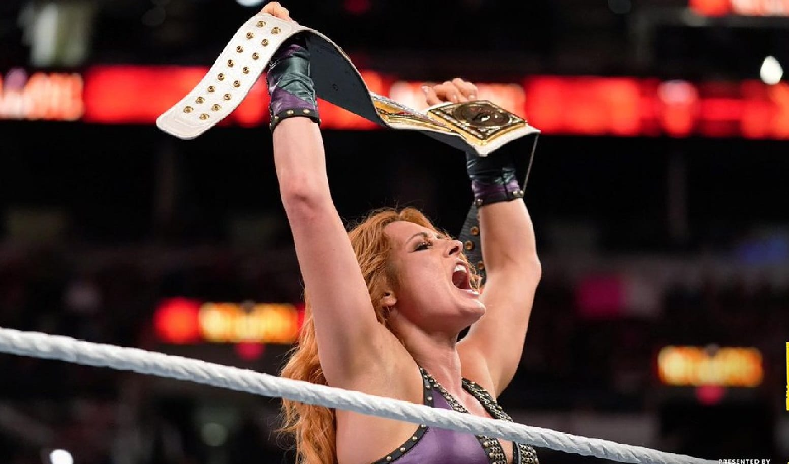 becky lynch smackdown womens title win